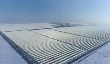 China largest 100MW parabolic trough CSP plant connected to the grid