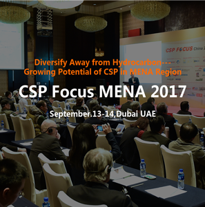 Diversify Away from Hydrocarbon---Growing Potential of CSP in MENA Region