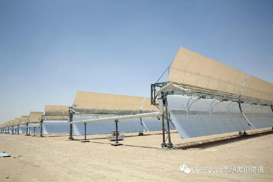 Kuwait 1st CSP plant 50MW Shagaya solar completed this year