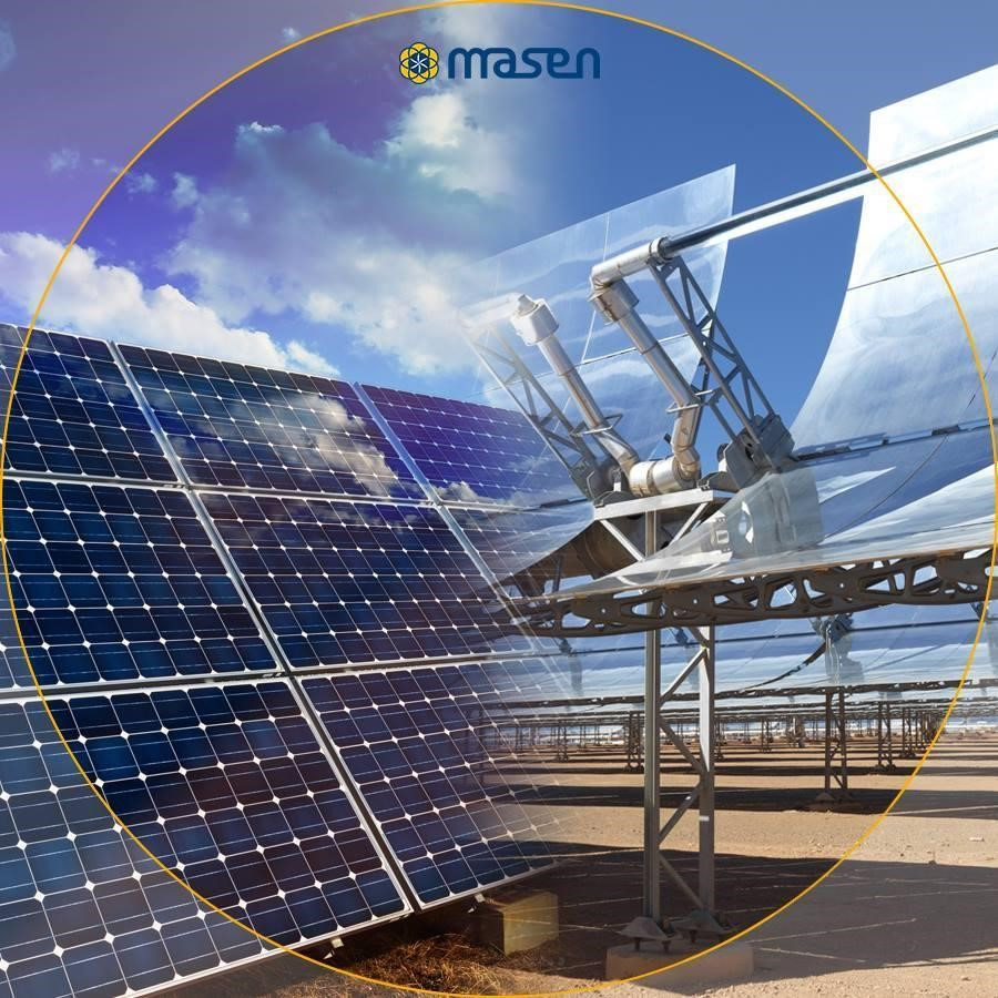 Who play leading roles in MENA concentrated solar power